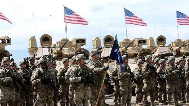 Войска США в Сирии
