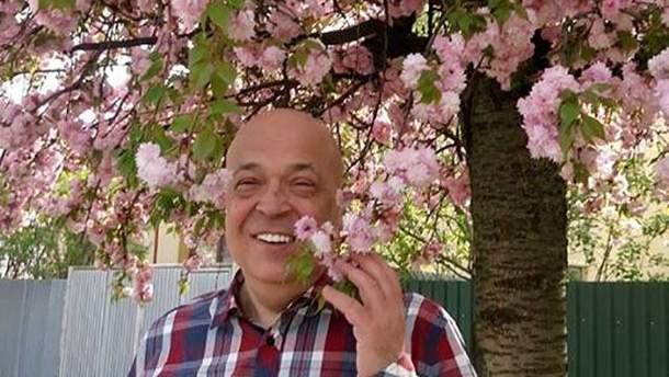 Москаль приглашает туристов посетить Закарпатье, где расцветают сакуры