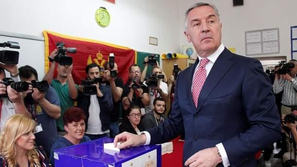 Джуканович оголосив про перемогу навиборах президента Чорногорії