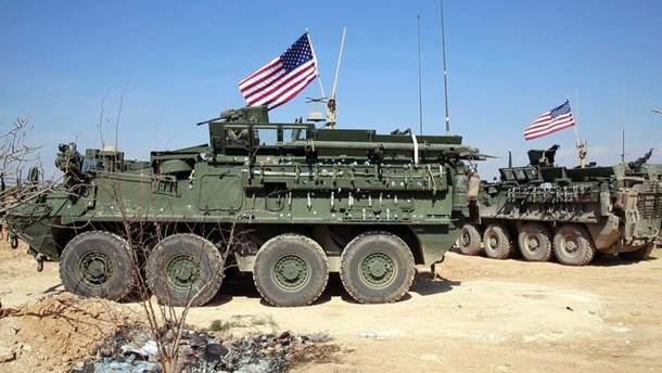 Американские военные в Сирии