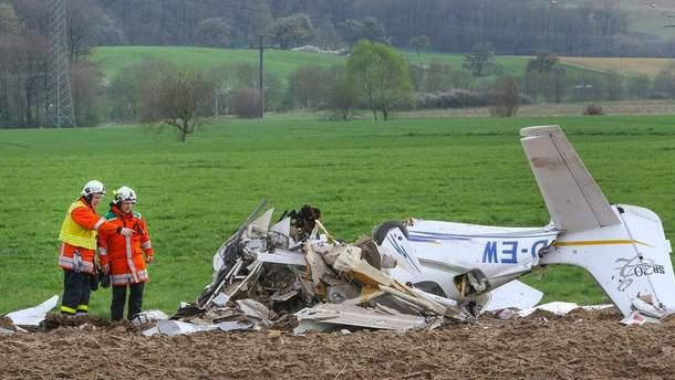 В Германии столкнулись легкомоторный и спортивный самолеты: есть жертвы