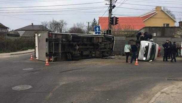 ДТП вОдесі: постраждали більш ніж десять осіб