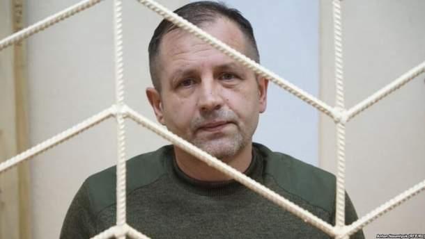 Володимир Балух голодує з 19 березня