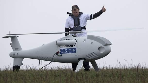 Пророссийские боевики хотят уничтожить беспилотник ОБСЕ и обвинить в этом ВСУ, – разведка