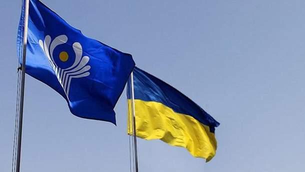 Украина не будет полностью прекращать сотрудничество с СНГ