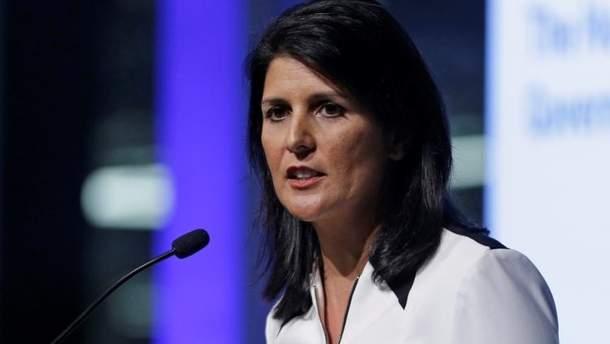 Никки Хейли заявила, что США не будет вести переговоры с Сирией