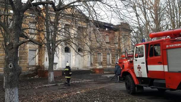 На Харьковщине горит памятник национального значения