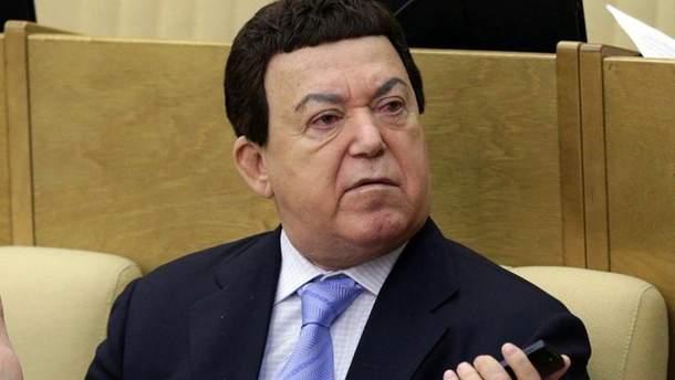 Йосипа Кобзона госпіталізували у Москв