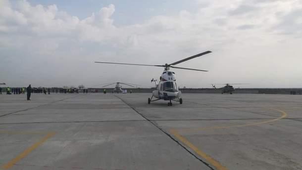 У Запоріжжі тестували новий український вертоліт
