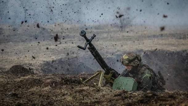 Российско-оккупационные войска 22 раза обстреляли украинские позиции