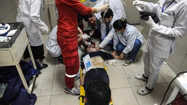 Последствия химической атаки в Думе