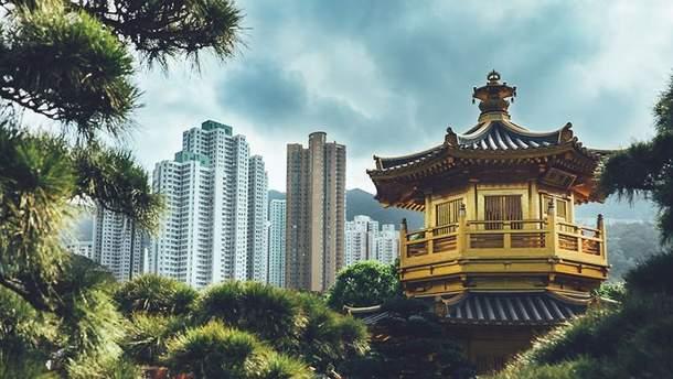 Волшебный Гонконг в серии снимков