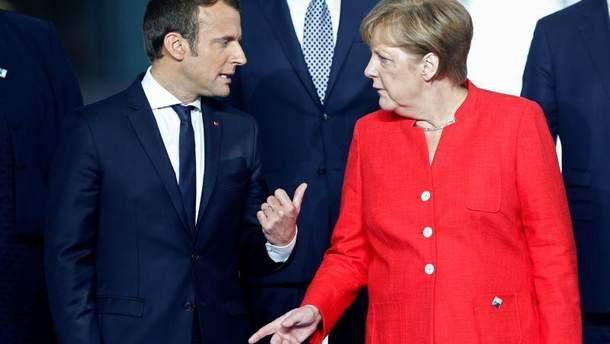 Німеччина зводить нанівець великі амбіції Макрона