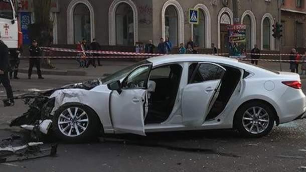 Полиция задержала водителя автомобиля Mazda, который был участником смертельного ДТП в Кривом Роге