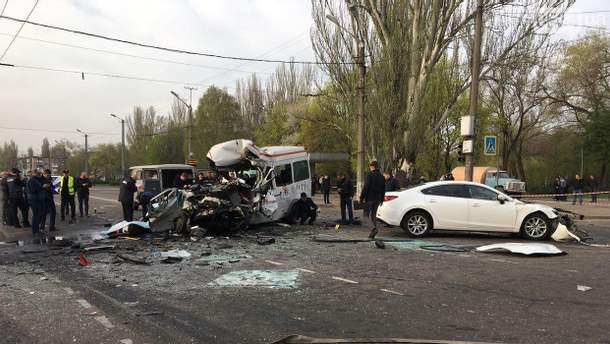 Смертельная авария в Кривом Роге: полиция рассказала важные детали