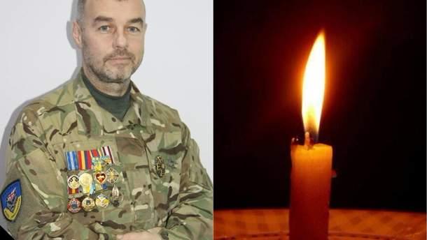 Умер волонтер Виталий Макогон