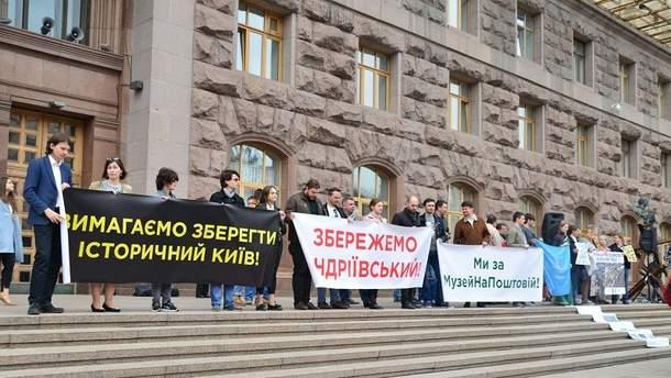 Власти Киева провалили главное голосование заподземный музей наПочтовой