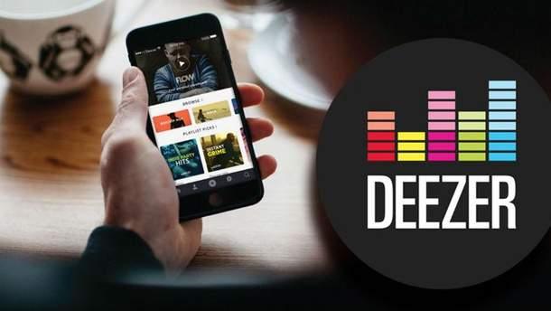 Музичний сервіс Deezer вже в Україні