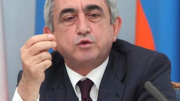 Парламент Вірменії обрав  Сержа Саргсяна на посаду прем'єр-міністра