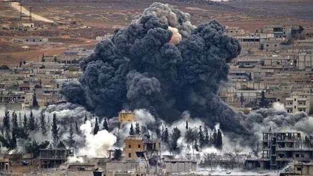 Российские военные сообщили о том, что нашли в сирийской Думе склад химикатов повстанцев