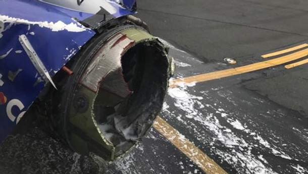 В США во время полета взорвался двигатель у самолета Boeing 737: есть пострадавшие(фото и видео)