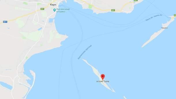 Остров Тузла