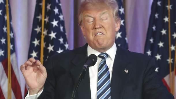 Дональд Трамп дізнався про санкції, коли дивився заяву посла США по  телевізору
