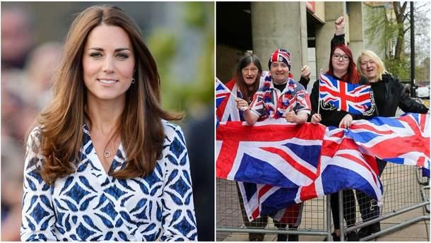 Фанати Кейт Міддлтон оселились біля лікарні в очікуванні народження третьої дитини