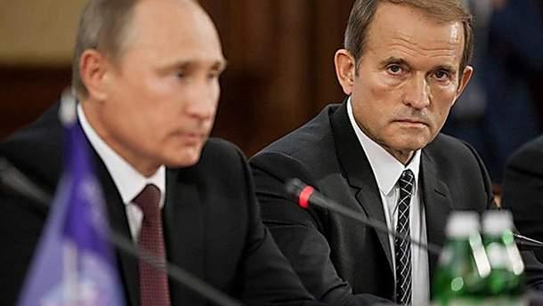 У мене були нормальні, ділові стосунки з Путіним, – Медведчук розповів, чому обрав Путіна кумом