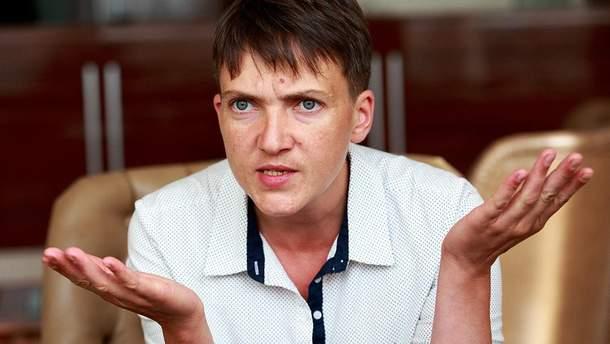 Савченко заявила, что принудительный отбор у нее слюны будет расцениваться как пытка