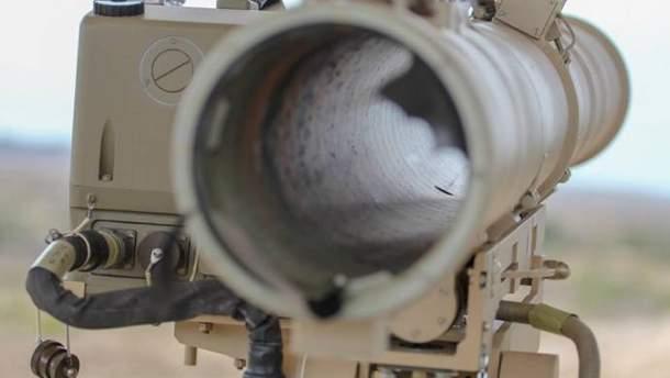 """В Україні випробували модифікований протитанковий ракетний комплекс """"Скіф"""""""