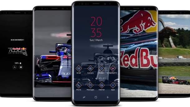 Samsung випустить лімітовану серію смартфонів Galaxy S9/S9+ для шанувальників  Формули-1
