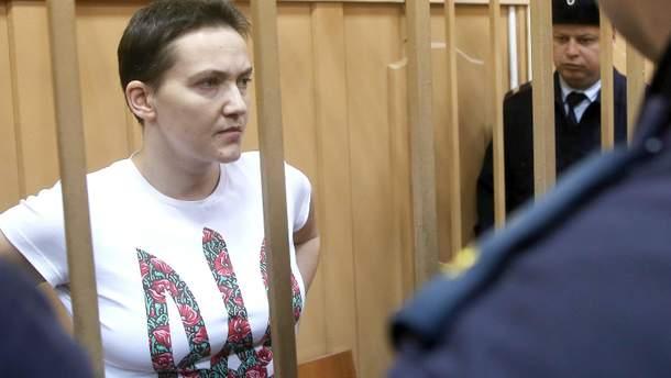 Надежда Савченко до сих пор не подала декларацию о доходах