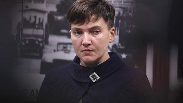 Суд запретил силой брать в Савченко образцы слюны