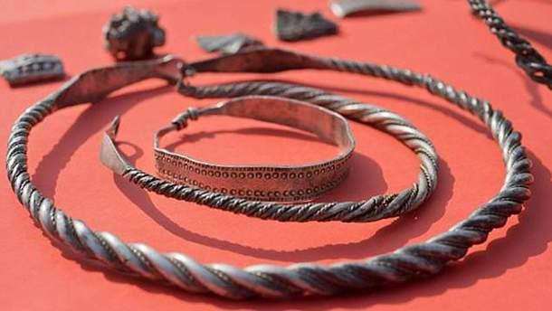 Скарби вікінгів знайшли в Німеччині