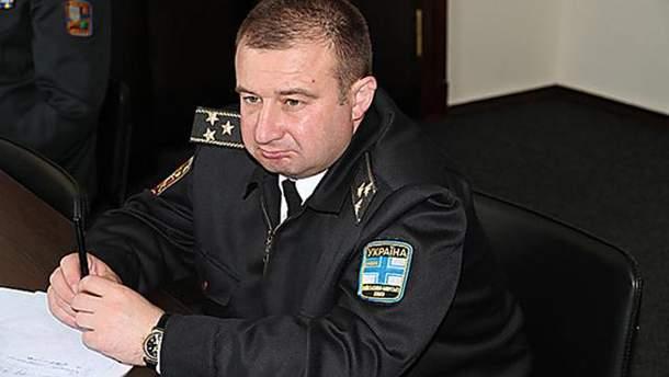 Романа Гладкого отстранили от должности начальника штаба ВМС