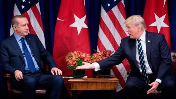 США можуть накласти санкції на Туреччину