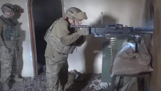 """Бои полка """"Азов"""" на Донбассе"""