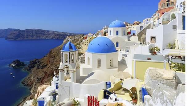 Греческий городок Ия