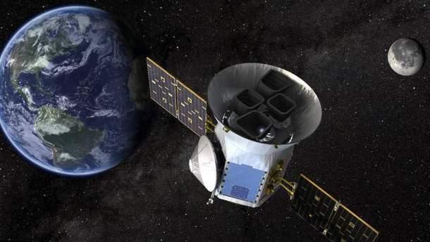 SpaceX вивів на орбіту супутник TESS для пошуку позаземного життя