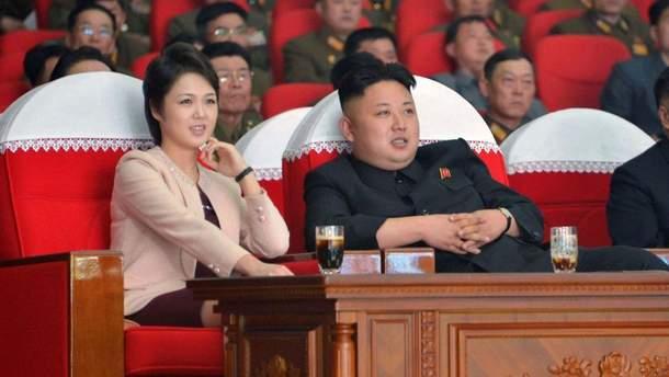 Від нині Лі Соль Чжу перша леді КНДР за північнокорейськими ЗМІ