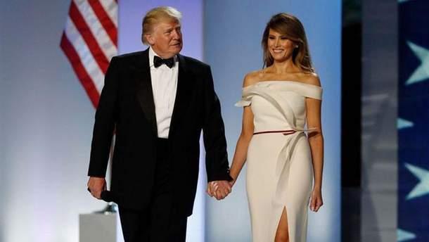 Дональд и Мелания Трампы