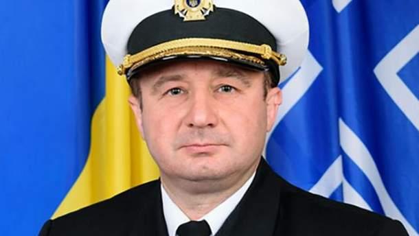 Роман Гладкий освобожден от должности начальника штаба ВМС
