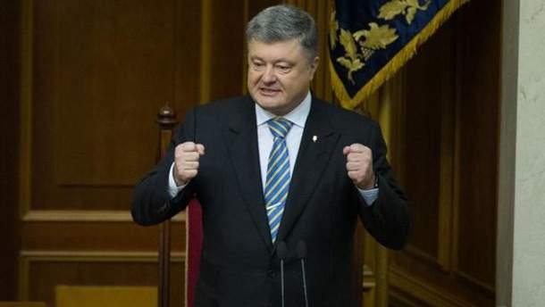 Порошенко запустил в зоне АТО систему противодействия антиукраинскому вещанию