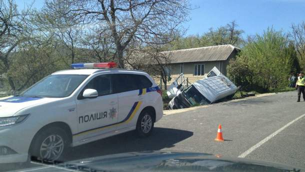 Ужасное ДТП на Прикарпатье –  погиб человек