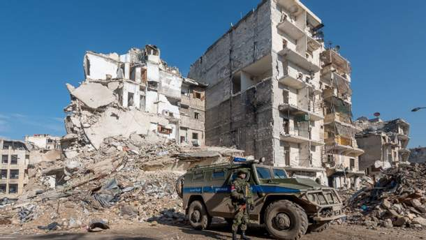 У Росії заявили, що знайшли в сирійській Думі зброю з Великобританії та Німеччини
