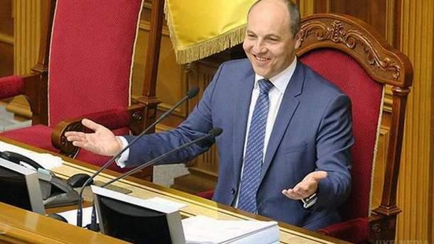 Парубий подписал постановление о поддержке обращения Порошенко относительно автокефалии УПЦ