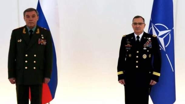НАТО  с РФ  обсудили военную деятельность организации и России в Европе