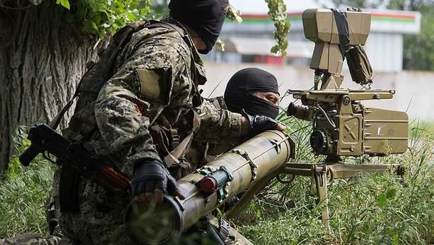Боевики на Донбассе продолжают применять запрещенное Минском вооружение