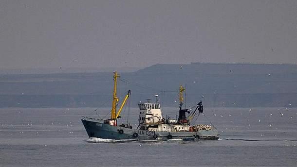"""Задержанное украинское судно """"Норд"""""""